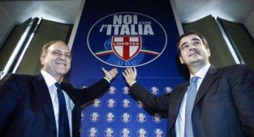 Presentazione del simbolo Noi con l'Italia
