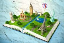 Viaggi: vere pagine di un libro intitolato Mondo