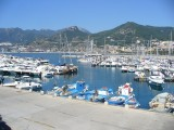 Salerno vista dal porto