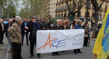 Palermo. marcia per la vita e la  famiglia
