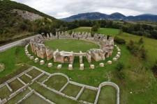 Area archeologica di Amiternum in Abruzzo