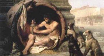 Diogene di Sinope un saggio che disprezzava la vanagloria dell'uomo